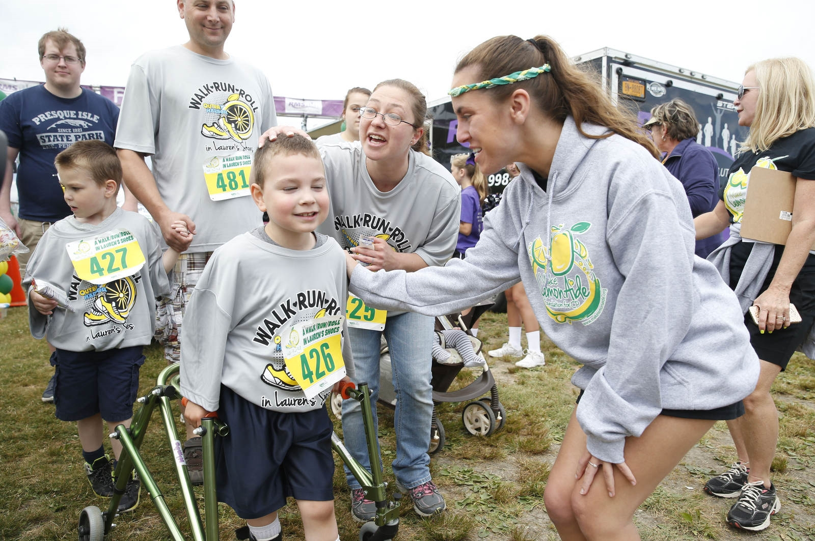 Media Coverage for the 5th Annual Run/Walk/Roll in Lauren's Shoes