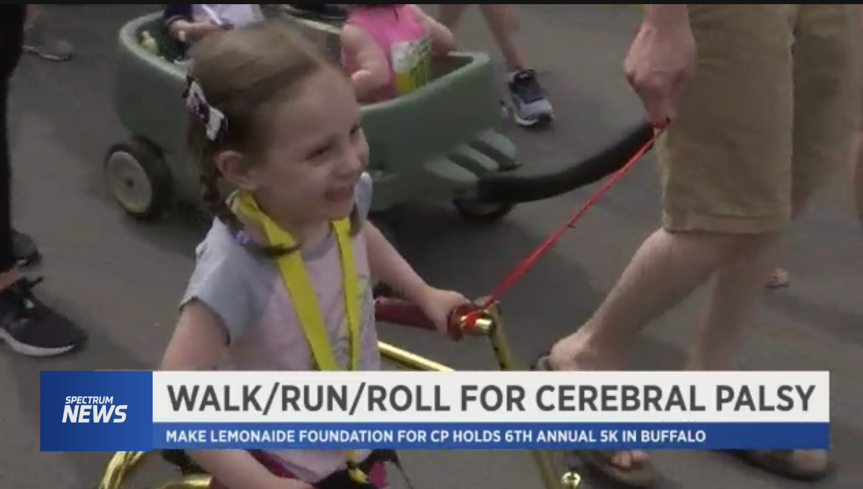 Walk/Run/Roll in Lauren's Shoes Covered by Spectrum News